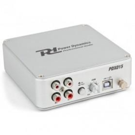 PRÉAMPLIFICATEUR PHONO USB AVEC LOGICIEL - PDX015