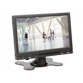 """MONITEUR NUMÉRIQUE TFT-LCD 7"""" AVEC TÉLÉCOMMANDE - 16:9 / 4:3"""