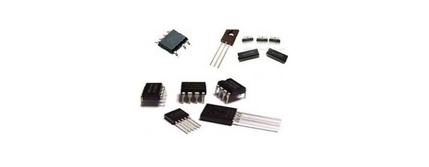 led transistor régulateur circuit intégré triac thyristor convertisseur ampli hybride